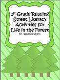 First Grade Reading Street Life in the Forest Literacy Activities