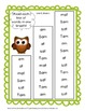 First Grade Reading Street One Breath Read (free sample) owl theme