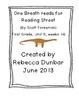 First Grade Reading Street One Breath Read Full Version Di