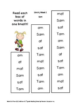 First Grade Reading Street One Breath Read Full Version Stick Kids theme