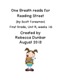 First Grade Reading Street One Breath Read Full Version St