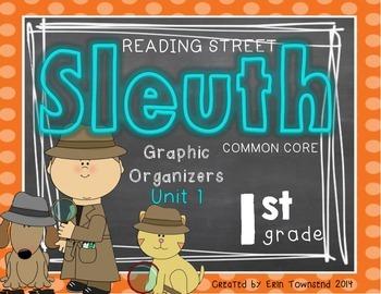 Grade 1 Reading Street SLEUTH Unit 1 Week 1 FREEBIE
