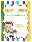 First Grade Reading Street Stamp Center