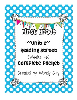 First Grade Reading Street Unit 2 Entire Pack of Supplemental Materials