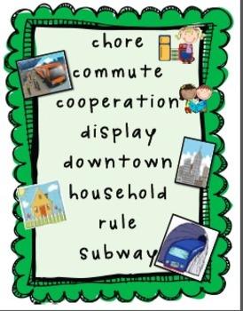 2008 First Grade Reading Street Unit 2 Focus Wall