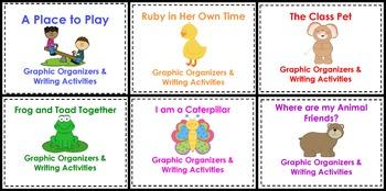 First Grade Reading Street Unit 3 Graphic Organizers Bundle