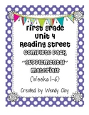 First Grade Reading Street Unit 4 Complete Pack of Supplemental Materials