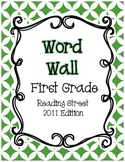 First Grade Reading Street Word Wall