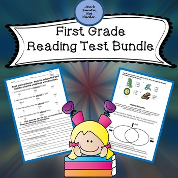 First Grade Reading Common Core Test Pack