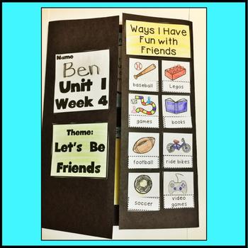 First Grade Reading Unit 1 Week 4