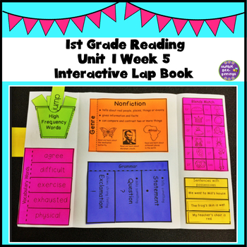 First Grade Reading Unit 1 Week 5