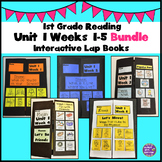 First Grade Reading Unit 1 Weeks 1-5 Bundle