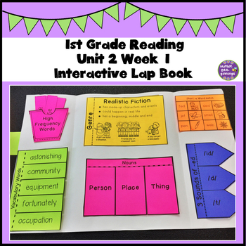 First Grade Reading Unit 2 Week 1
