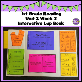 First Grade Reading Unit 2 Week 3