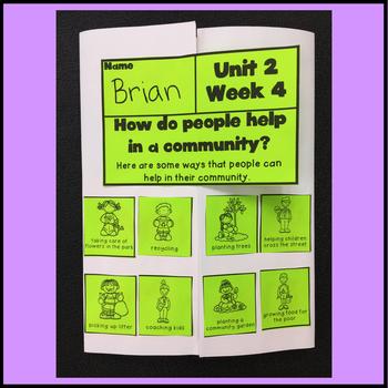 First Grade Reading Unit 2 Week 4