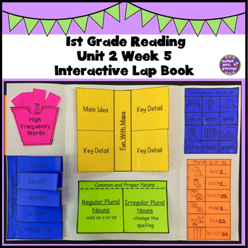 First Grade Reading Unit 2 Week 5