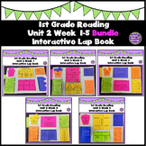 First Grade Reading Unit 2 Weeks 1-5 Bundle
