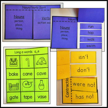 First Grade Reading Unit 3 Week 1