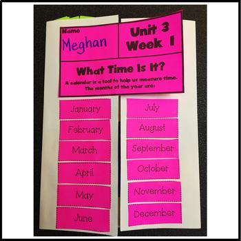 First Grade Reading Unit 3 Week 1