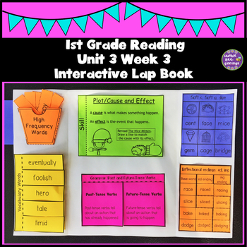 First Grade Reading Unit 3 Week 3