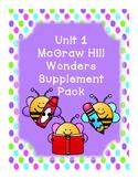 First Grade Reading Wonders HUGE Supplemental Bundle for Unit 1!!