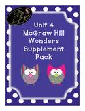 First Grade Reading Wonders HUGE supplemental Bundle for Unit 4