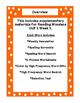 First Grade Reading Wonders Supplemental Bundle for Unit 2 Week 2