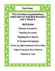 First Grade Reading Wonders Supplemental Bundle for Unit 2 Week 4 Nell's Books