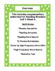 First Grade Reading Wonders Supplemental Bundle for Unit 2