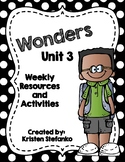 First Grade Reading Wonders Unit 3