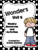 First Grade Reading Wonders Unit 4