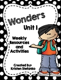 First Grade Reading Wonders Unit Activities