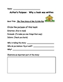 First Grade  Reading Workshop Authors Purpose Core Curricu