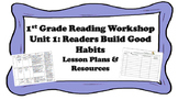 First Grade Reading Workshop Unit 1