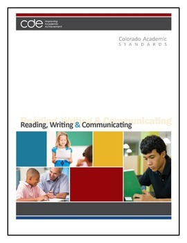 Colorado First Grade Reading, Writing, and Communicating Standards Tracker