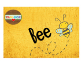 First Grade Reading and Language Arts Bulletin and Word Wall - Bee
