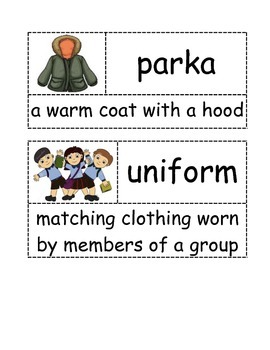 First Grade- Ready Gen- It's Back to School We Go- Vocabulary