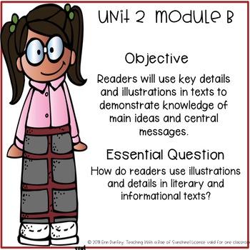 First Grade Ready Gen Objectives