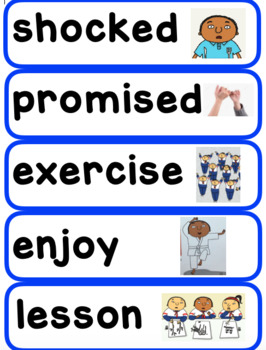 First Grade ReadyGen Unit 2 Module B Vocabulary Cards