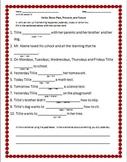 First Grade ReadyGen Unit 2A Lessons 1-6 Homework
