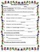 First Grade ReadyGen Unit 2B Lessons 1-6 Conventions Worksheets