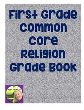 First Grade Religion Common Core Grade Book