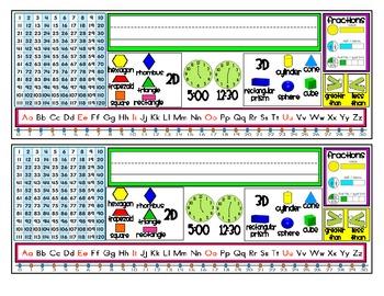First Grade Resource Nametags {2nd Semester}