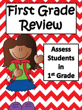 First Grade Common Core Math and Language Arts Review: Ass