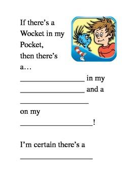 First Grade Rhyming Activity