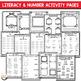 Back to School Activity Book First Grade and Kindergarten