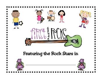 First Grade Rocks Booklet