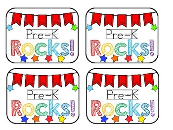 First Grade (...And Other Grades) Rocks! Tag