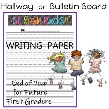 First Grade Rocks Writing Paper