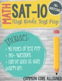 First Grade SAT 10 Math Practice 140+ Questions BUNDLE Pri
